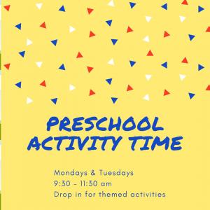 Preschool activity Time
