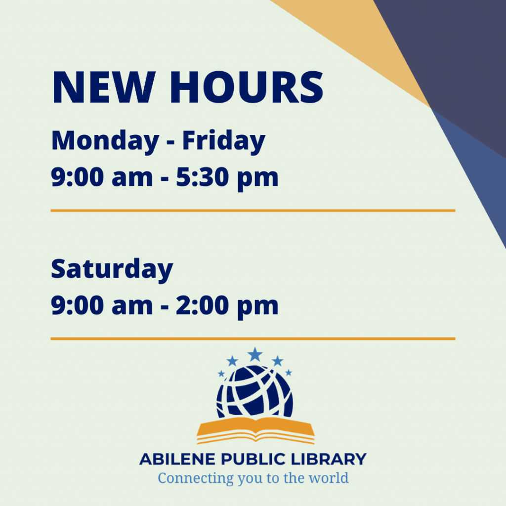 New Hours Monday - Friday 9:00 am - 5:30 pm Saturday 9:00 - 2:00 pm