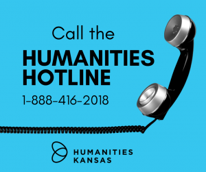 Humanities Hotline graphic