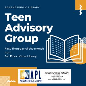 Teen Advisory Group poster