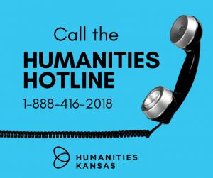 Humanities Hotline graphic